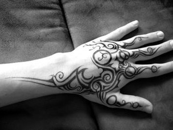 Hand Tattoo Design for Men Picture