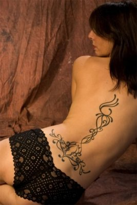 Lower Back Tattoo Design for Women Picture