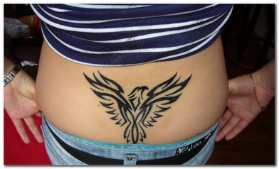 Eagle tattoo design for girls picture