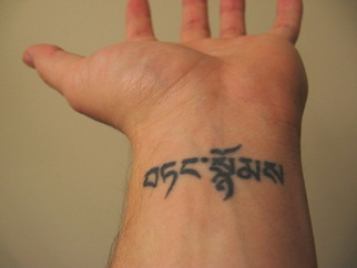 Wrist Tattoo Design for Men Picture