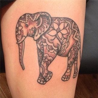 Elephant Tattoo Design Ideas And Pictures Page 2  Tattdiz