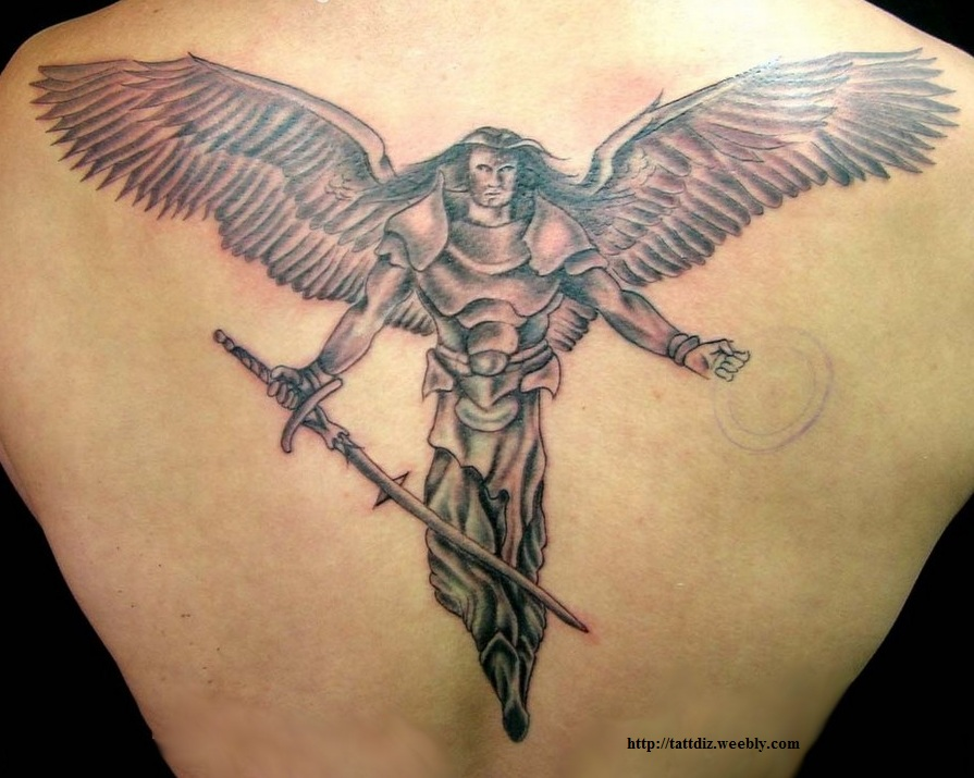 Male Symbol Tattoo Male Angel Tattoo Designs
